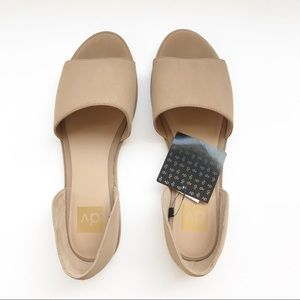 DV - Dolce Vita - Tan Open Toe Flat Sandals